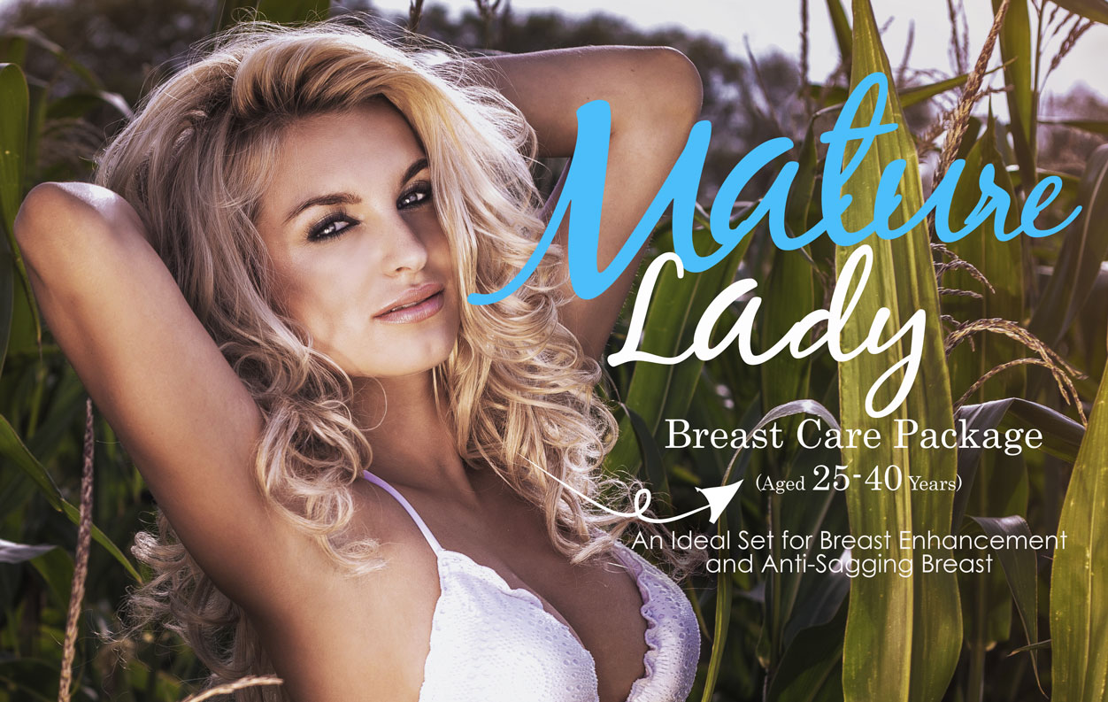 Mature Lady Breast Care Package (Aged 25-40 Years)