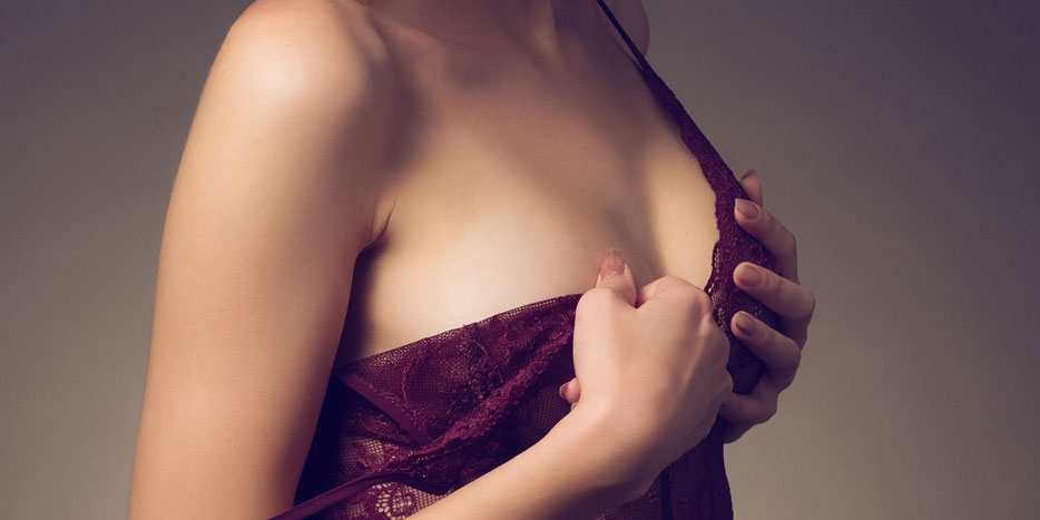 Non Surgical Breast Enhancement Before and After